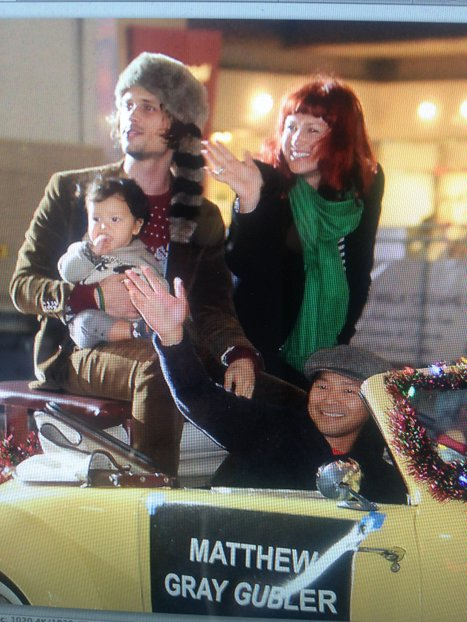 Matthew Gray Gubler & Family