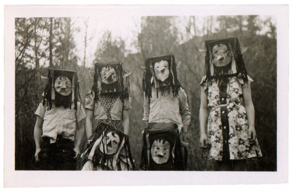Creepy Vintage Childrens Halloween Costumes