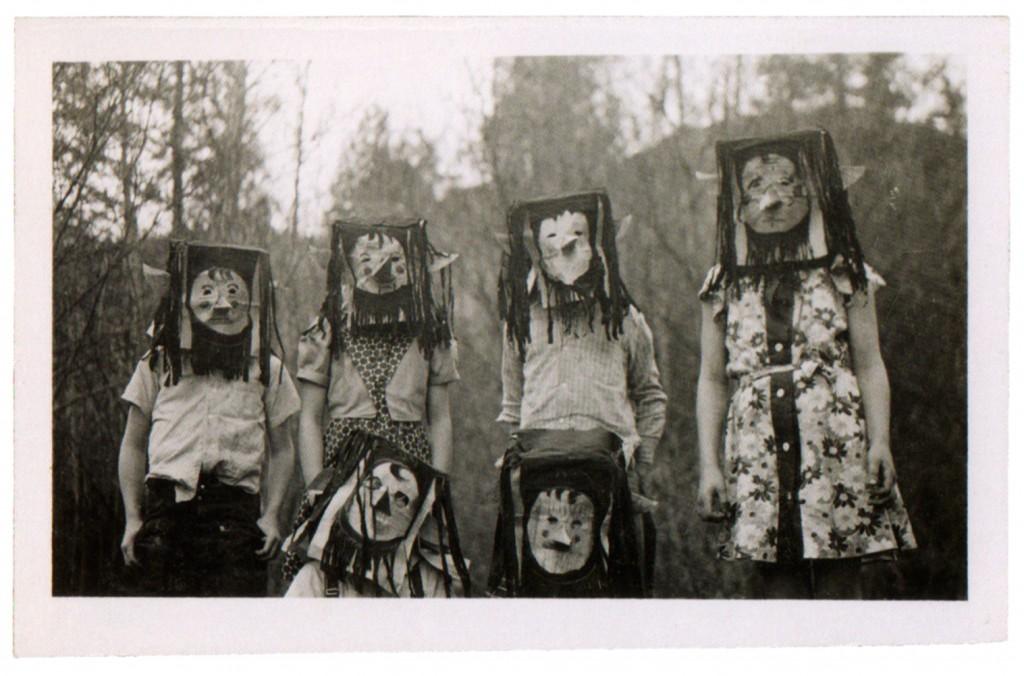Creepy Vintage Children's Halloween Costumes