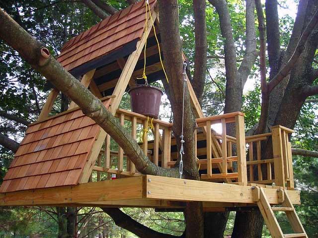 A Frame Treehouse Design