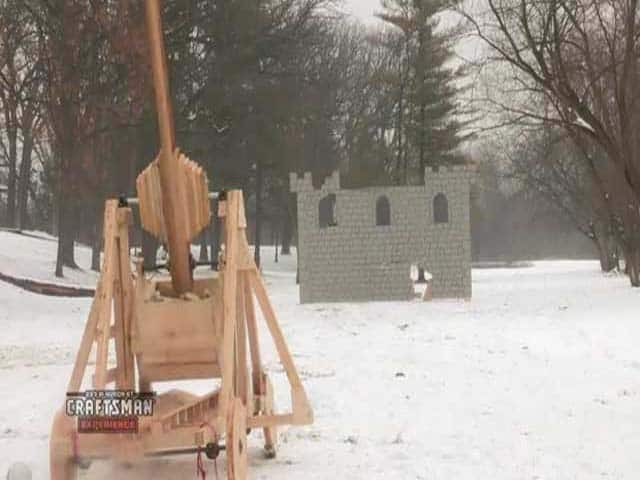 Building a Trebuchet to Storm a Castle…in Illinois