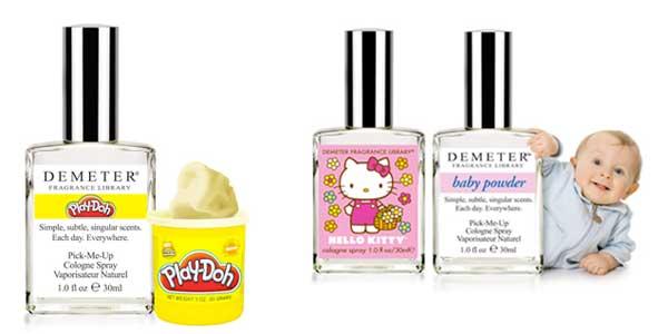 Demeter childhood fragrances