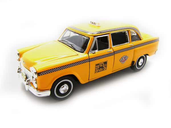 New York City taxi cab toy
