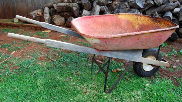 Herb Garden Wheelbarrow