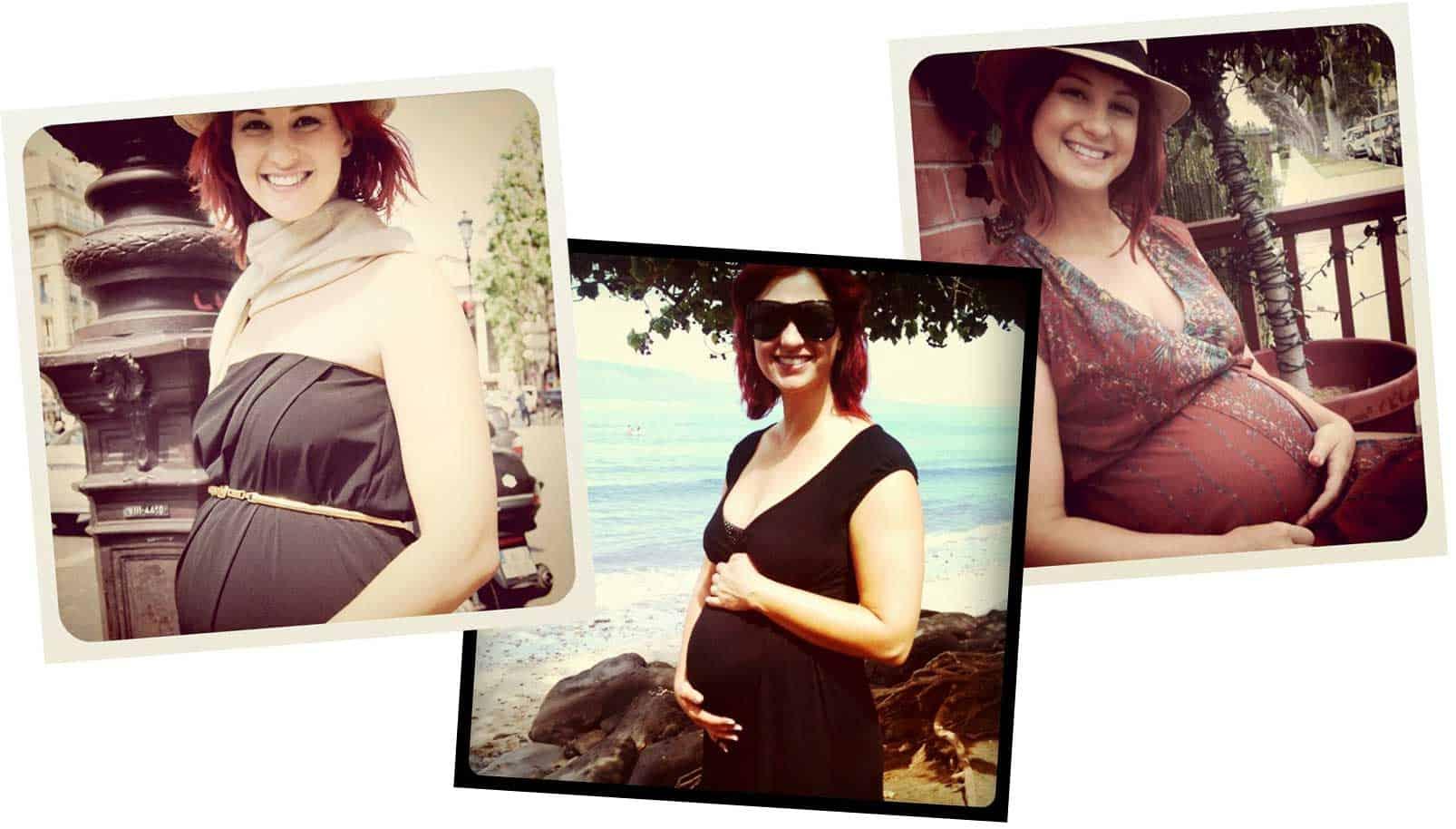 Laura Dahl, Bon Voyage with a Baby Bump