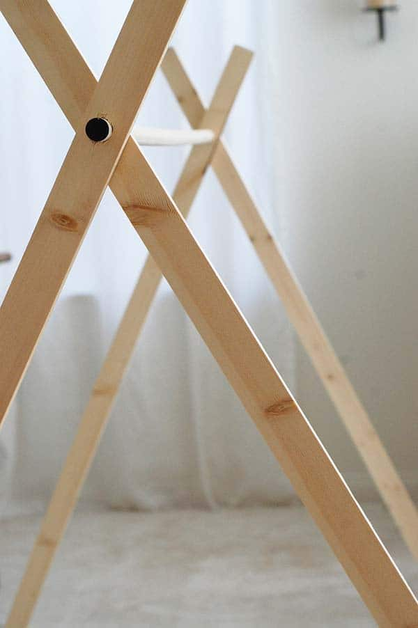 a-frame-tent-frame & Build a Beautiful Indoor A-Frame Kids Tent