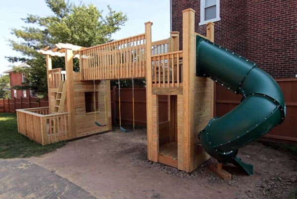 outdoor-wood-playset