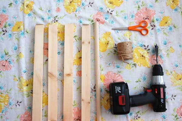 tent-tools 4- 1u201d x 2u201d x 48u201d whitewood moulding 1- 3/4u201d x 48u201d poplar dowel drill with a 3/4u201d spade bit measuring tape pencil (marker) & Build a Beautiful Indoor A-Frame Kids Tent
