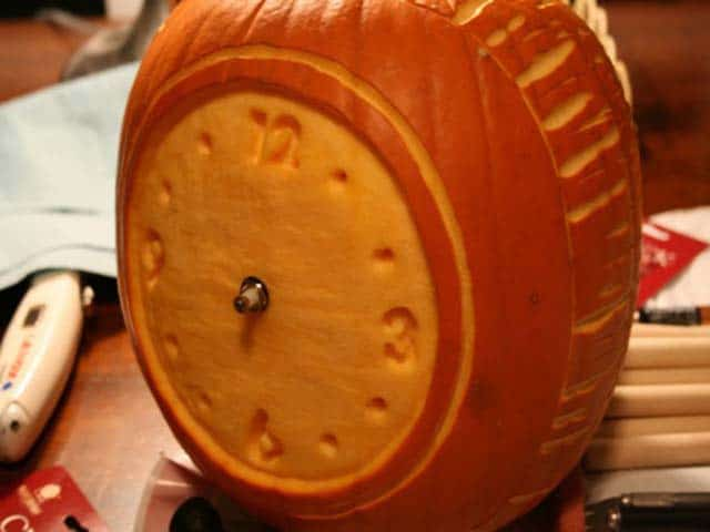Alarm Clock Halloween Pumpkin
