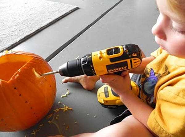 drilling-pumpkin