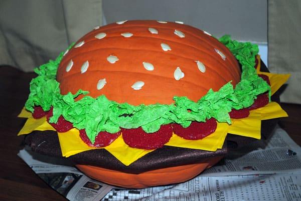 hamburger-pumpkin