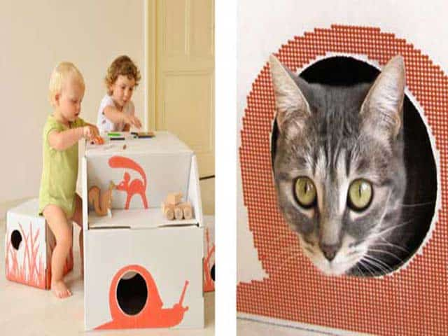 Dutch Cardboard Designs Inspire Play and Creativity