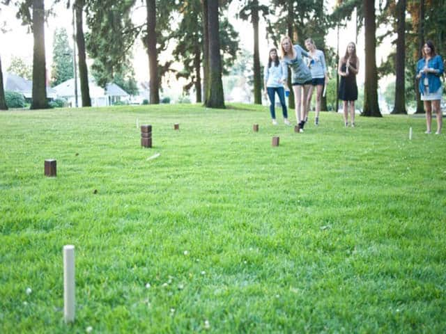 How to Build a Kubb Swedish Lawn Game Set