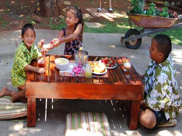 Reclaim an Old Wood Tatami Table