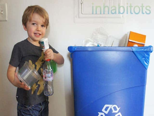 Build a Kid's Recycling Station