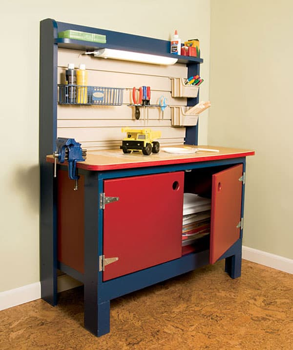 How To Build A Kid S Workbench