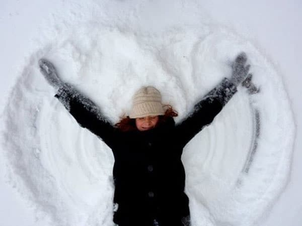How To Make a Perfect Snow Angel