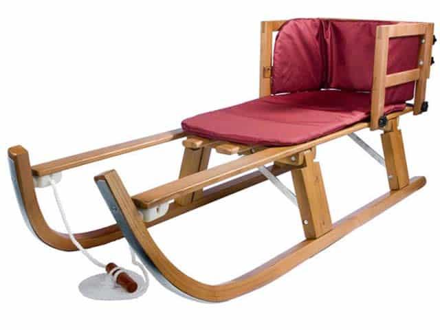 wood-snow-sled