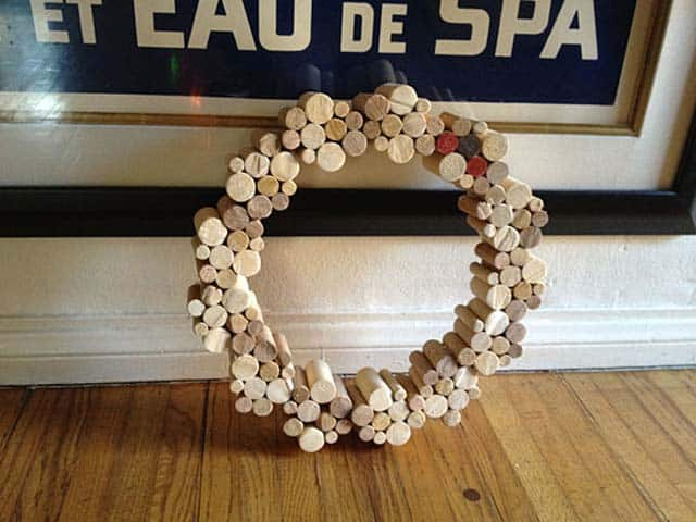 Make a Wood Wreath for the Holidays