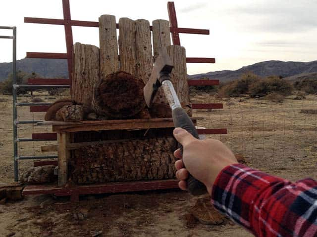 Make An Axe Throwing Target and Hit It!