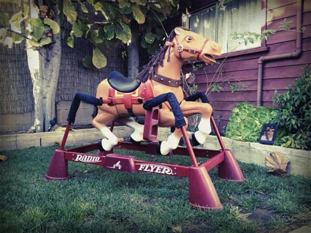 Classic Toys: Radio Flyer Liberty Spring Horse