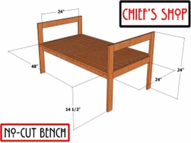 No Cut Woodworking Projects