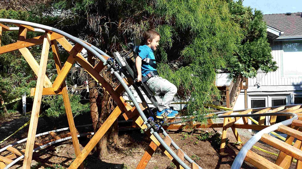10 thrilling backyard roller coaster videos