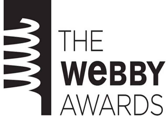 We're a Webby Awards Nominee!!!