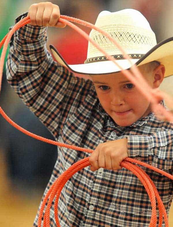 kid-roping