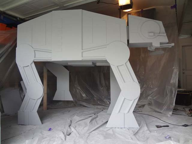 Build a Star Wars Imperial Walker Bed