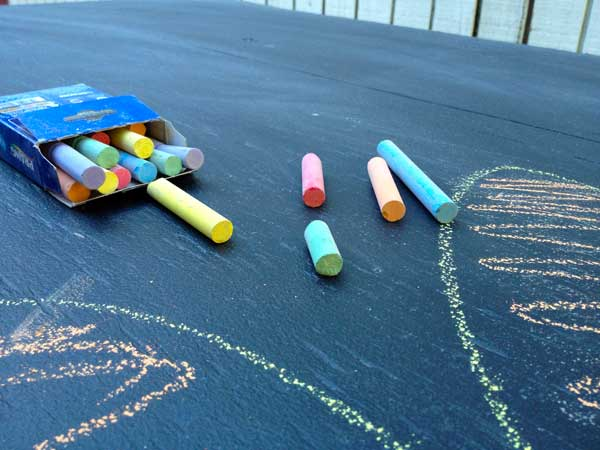 Upgrade Your Lemonade Stand with Chalkboard Paint