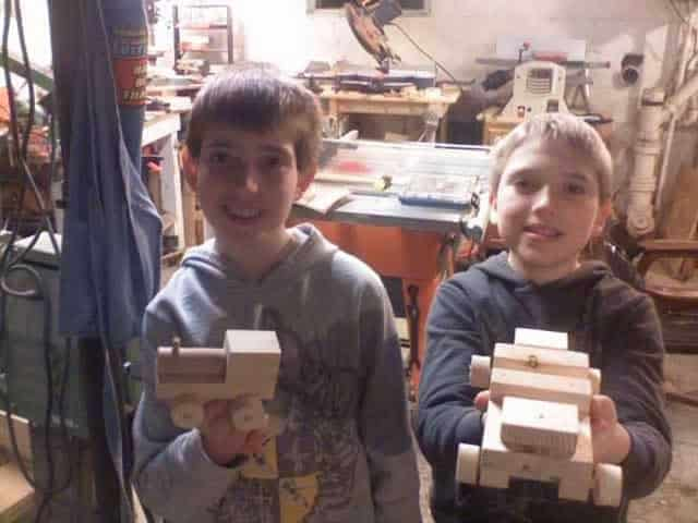 Woodworking Lessons for Kids