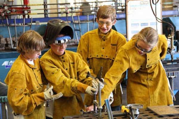 kids-welding