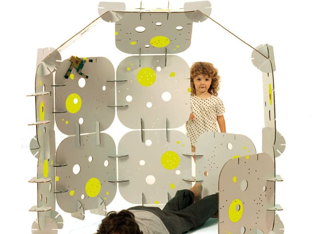 Habitatudule Cardboard Building Kits for Kids