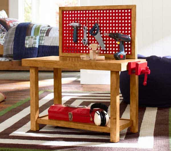 Kids Tool Bench From Pottery Barn