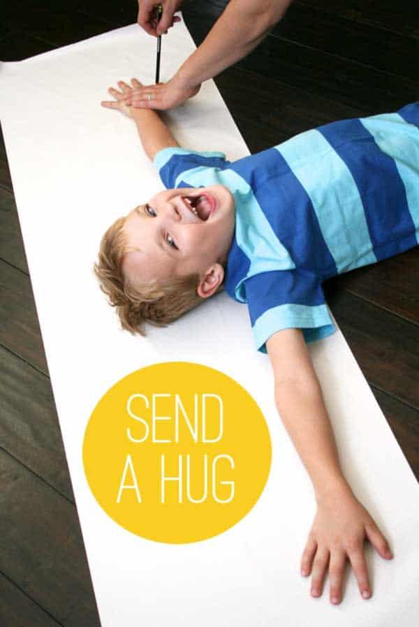 send a hug valentines