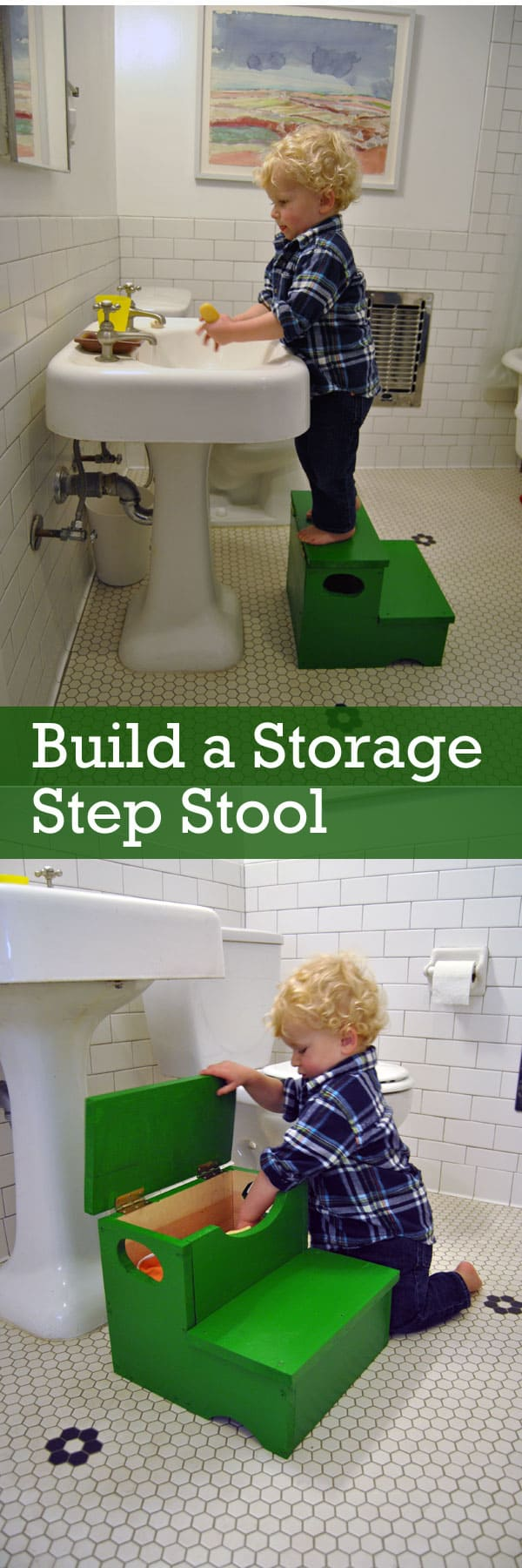 Swell How To Build A Storage Step Stool Machost Co Dining Chair Design Ideas Machostcouk