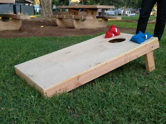 How To Build Corn Toss Game
