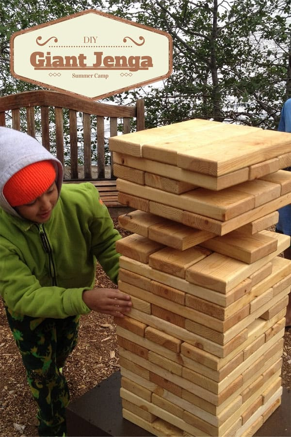 DIY Giant Jenga