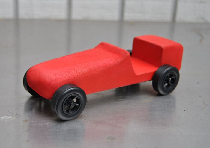 How To Airbrush A Pinewood Derby Car - Derby cars