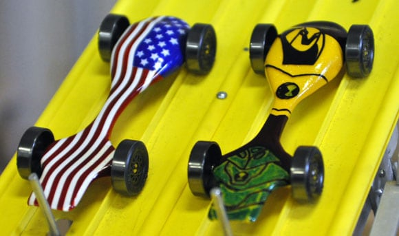 How To Airbrush a Pinewood Derby Car
