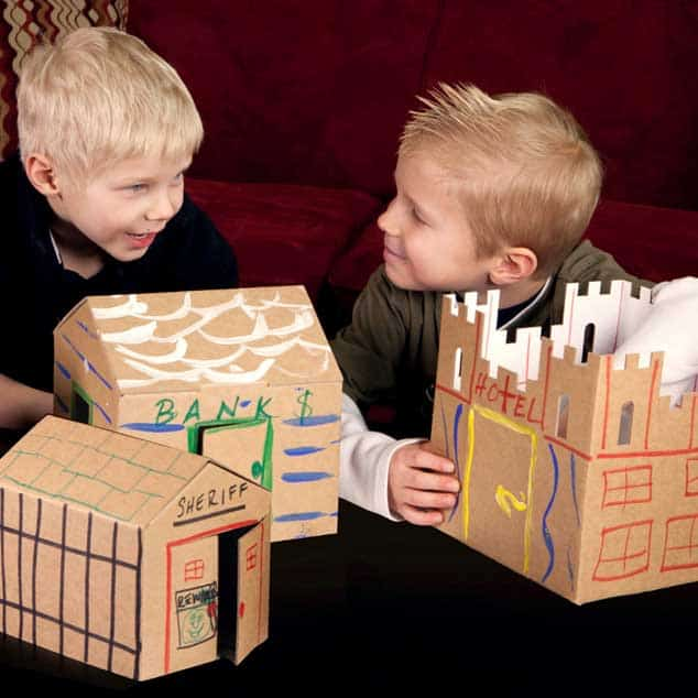 Easy Playtown Makes Cardboard Fun