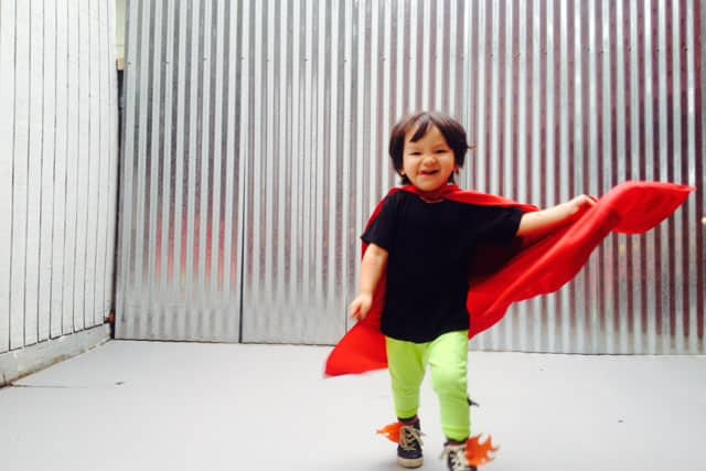 How To Make Super Hero Capes for Your Own Little Hero