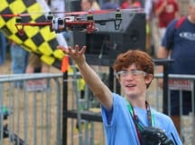 Battle Drones at Maker Faire