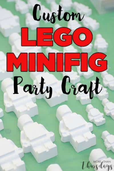 Make Your Own Paintable Lego Minifig