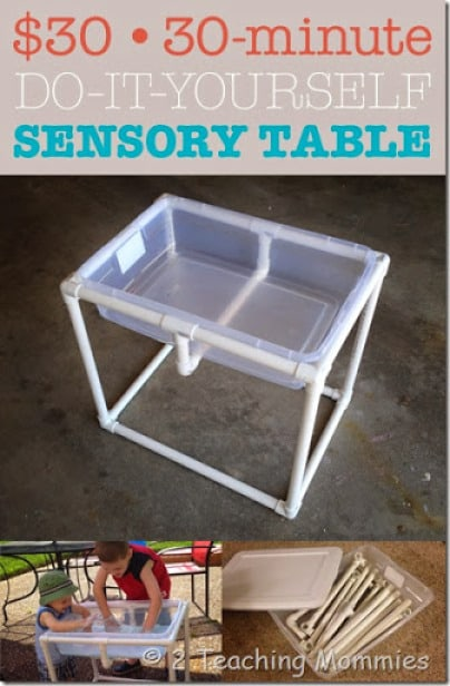 HOW TO: Build a Sensory Table for $30