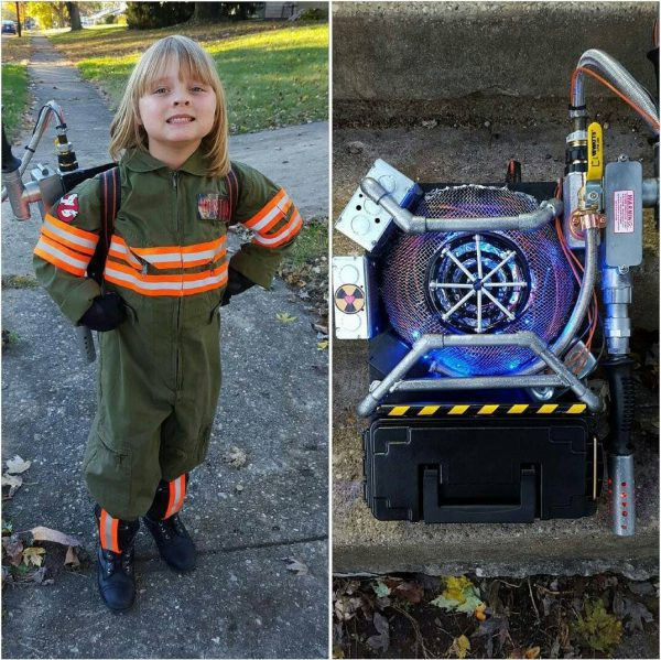 Check out this DIY Mini Ghostbusters Proton Pack