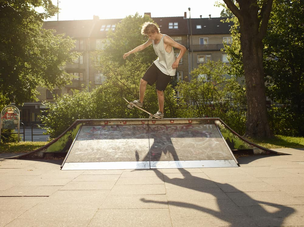 build skate ramp