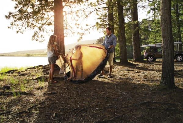 best family campsite