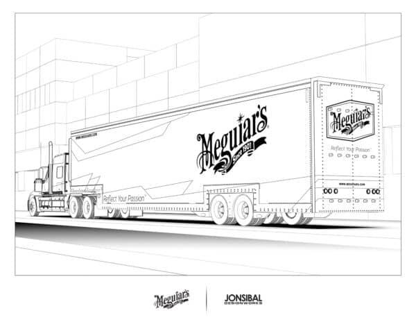 Meguiar's truck